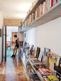 Bookshelf Ideas ⊶ Via Aestatemagazine #BookStorage