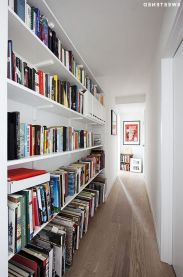 Brooklyn Scandinavian For A Clinton Hill ⊶ Via Sweeten #BookStorage