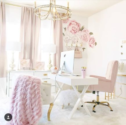 Chic Home Office Workspaces Youll Want To - Stylecaster.com