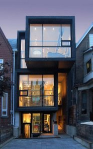 Cool And Contemporary House Exteriors ⊶ Via Chatelaine #FacadeHouse