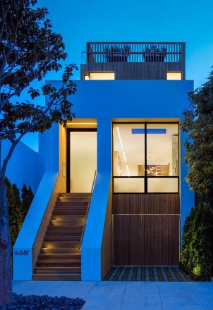 Cow Hollow Residence By Larson Shores Architecture ⊶ Via Homeadore #FacadeArchitecture
