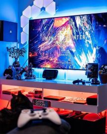 Epic Gaming Room Setups Tips To Improve ☼ Via Tastefultavern #Ps4 Gaming Setup #Dream Rooms #Gaming Setup Xbox