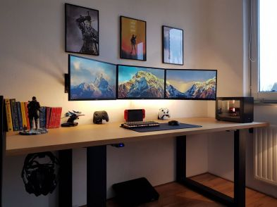 Evexiums Battlestation January ☼ Via Imgur #Ps4 Gaming Setup #Dream Rooms #Gaming Setup Xbox