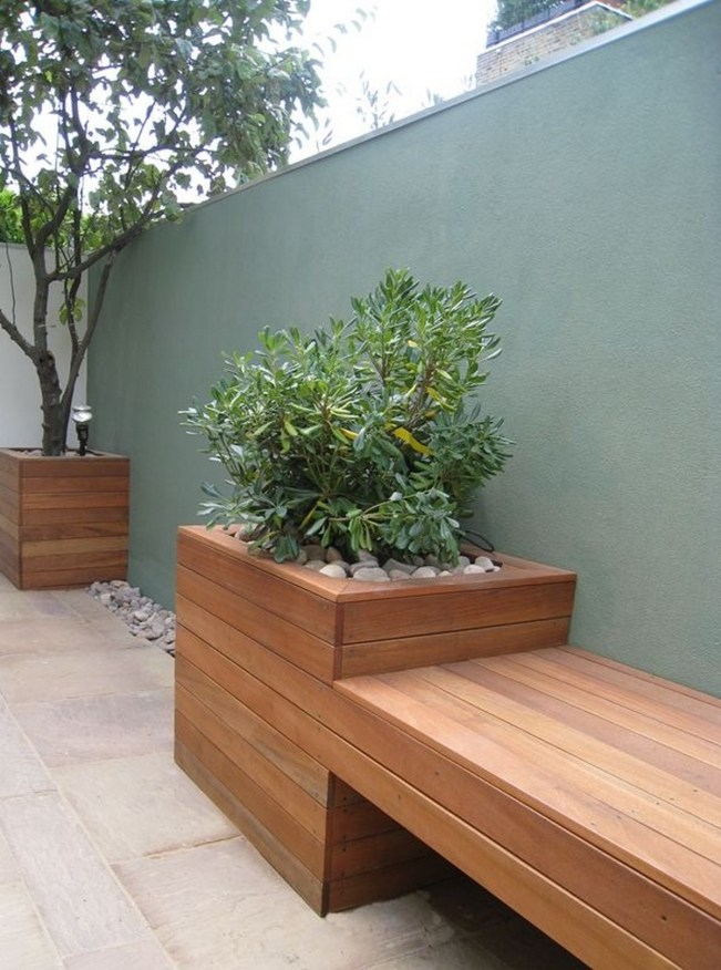Garden Bench Ideas For Relaxing Area ☼ Via Morflora