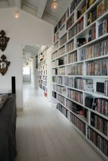 Homelibrarydesign ⊶ Via Homeadore #BookshelfIdeas