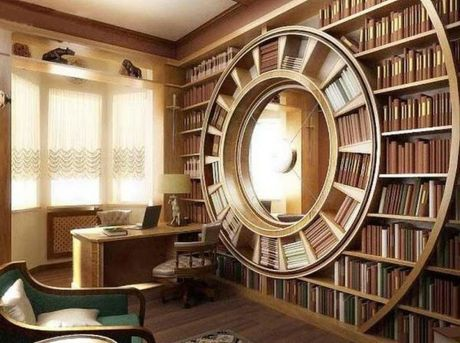 Incredible Home Libraries That Will Blow Your Mind ⊶ Via Media.bookbub #BookshelfIdeas
