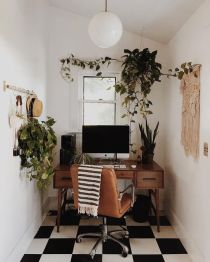 Inspiring Small Home Work Spaces - Thewonderforest.com
