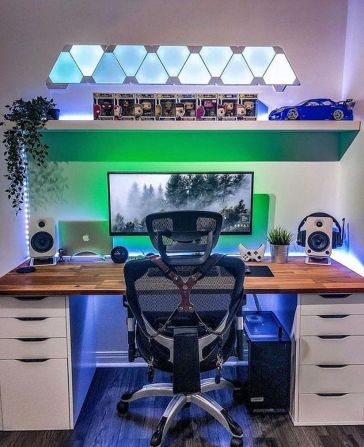 Instagram Photo By Shop For Gamers Jul ☼ Via Instagram #Ps4 Gaming Setup #Dream Rooms #Gaming Setup Xbox