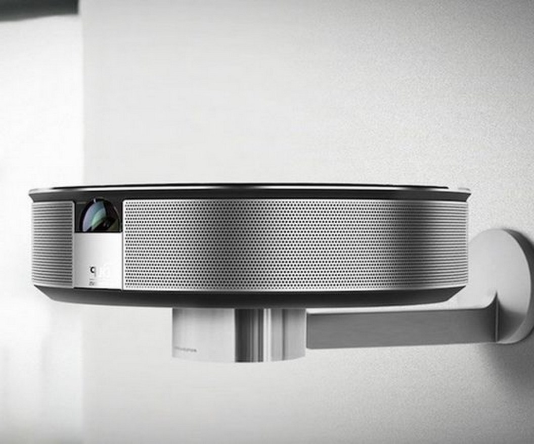 Bluetooth 3D Smart #HomeTheater #Projector Highly portable and super efficient! #smarthome