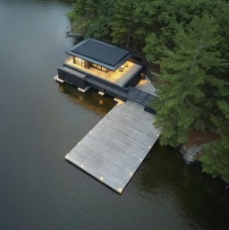 Tobin Island Boathouse Is Designed By @akbarchitects And Is Loca