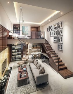 Contemporary Apartment Designed By Dian Maulidi