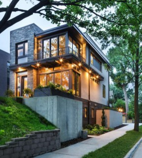 This Beautiful Contemporary Residence Was Designed And Built By