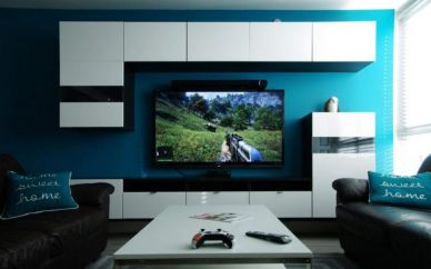 Most Popular Video Game Room Ideas ☼ Via Cbf-fund #Gaming Room Setup #Quarto Gamer #Playstation Room #xbox Room