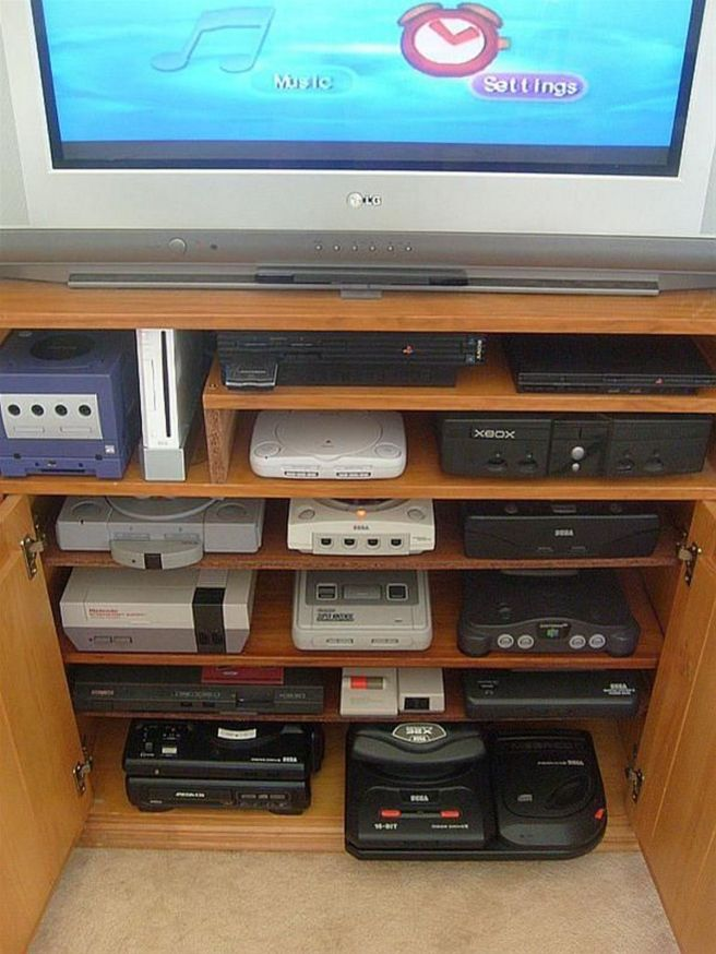 Retro Gaming Setup My Retro Gaming Setup ☼ Via Easyrollerdice #Ps4 Gaming Setup #Dream Rooms #Gaming Setup Xbox