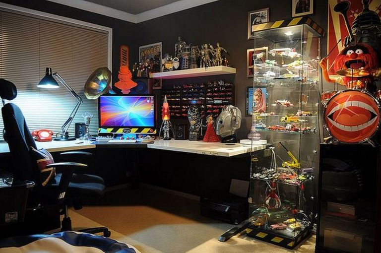 Nerd Cave ☼ Via Flickr #Gaming Room Setup #Quarto Gamer #Playstation Room #xbox Room