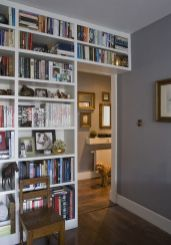 Small Home Libraries That Make A Big Impact ⊶ Via Media.bookbub #HomeLibraryDesign