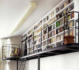Smart Ideas To Organize Your Books At Home ⊶ Via Digsdigs #HomeLibraryDesign