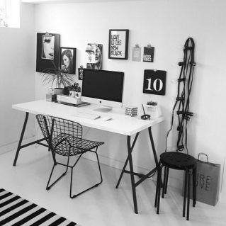 Stunning Small Home Office Ideas 2 - Sortingwithstyle.com