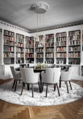 The Most Beautiful Dining Rooms On Pintere ⊶ Via Sanctuaryhomedecor #BookshelfIdeas
