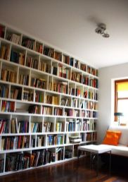 The Perfect Vintage Library For Your Home ⊶ Via Vintageindustrialstyle #HomeLibraryDesign