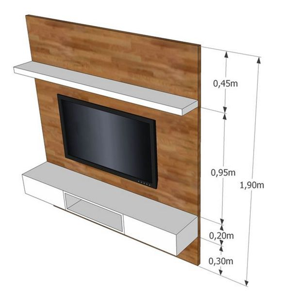 The Perfect TV Wall Ideas That Will Not Sacrifice Your Look - 08