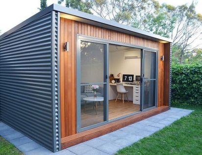 Totally Inspiring Backyard Studio Office Design - Trendecora.com