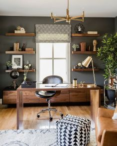 Trendy Accents For Your Home Office From Gold - Decoist.com