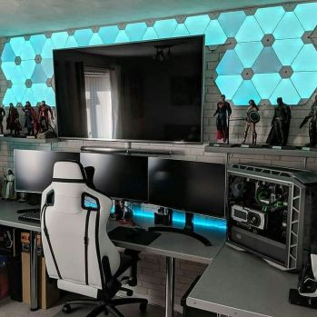 Video Game Room Ideas To Maximize Your Game ☼ Via Thedestinyformula #Gaming Room Setup #Quarto Gamer #Playstation Room #xbox Room