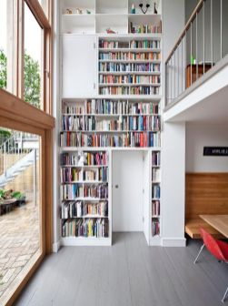 Want A Home Library Here Are Tips To Help ⊶ Via Jbirdny #BookStorage