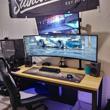 What Yall Think Of This Set Up Yay Or Nay ☼ Via Instagram #Ps4 Gaming Setup #Dream Rooms #Gaming Setup Xbox