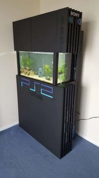 Who Lives In A Ps Under The Sea ☼ Via 9gag #Ps4 Gaming Setup #Dream Rooms #Gaming Setup Xbox