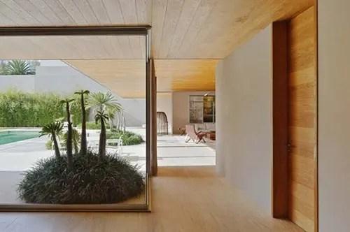 Residencia En Forma De L En Mxico Interiores