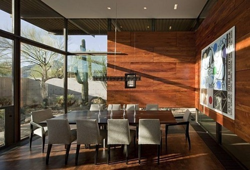 brown-residence-dining-table