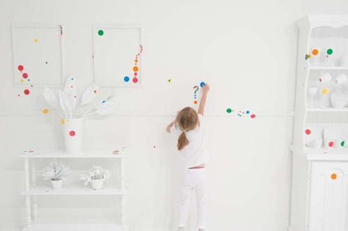 'Yayoi Kusama: Look Now, See Forever' Official Opening Obliteration Room