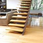 21 ideas escaleras de madera 11