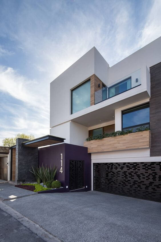 16 fachadas modernas diganas de imitar
