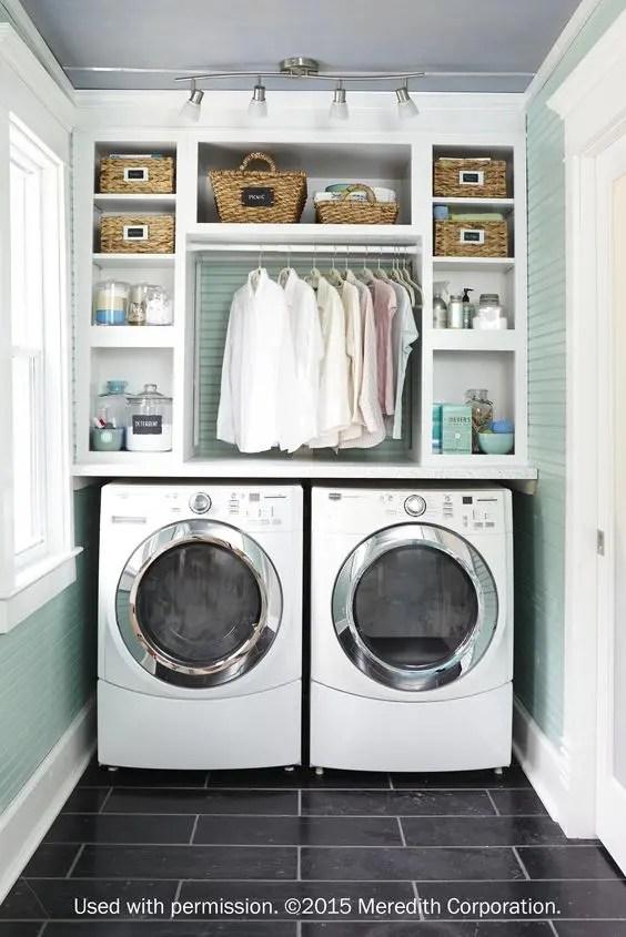 36 Ideas Para Decorar Y Organizar Tu Cuarto De Lavado Interiores