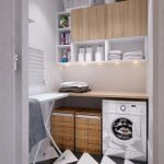 36 ideas para decorar y organizar tu cuarto de lavado - 22