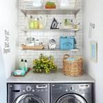 36 ideas para decorar y organizar tu cuarto de lavado - 34