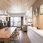 35 ideas de aplicación de pisos de madera laminada (30)