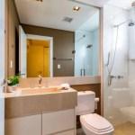 44 ideas para decorar y organizar baños pequeños (25)