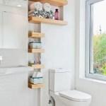 44 ideas para decorar y organizar baños pequeños (28)