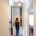 Mini apartamento lleno de ideas creativas de almacenamiento y decoración 07