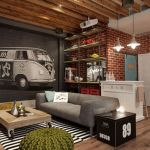 28 ideas de decoración para lograr un hogar con estilo industrial (23)