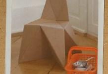 Muebles de cartón para niños Foldschool