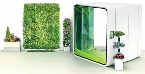 El concepto de Home E trae la naturaleza dentro de su casa