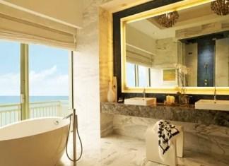 Los mejores baños de hoteles por HBA Designs