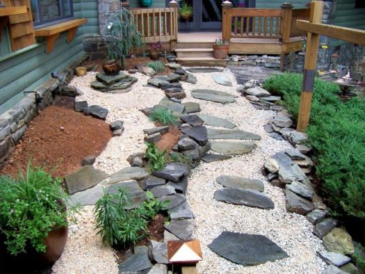 Oriental Rock Garden Landscaping Ideas Garden Design