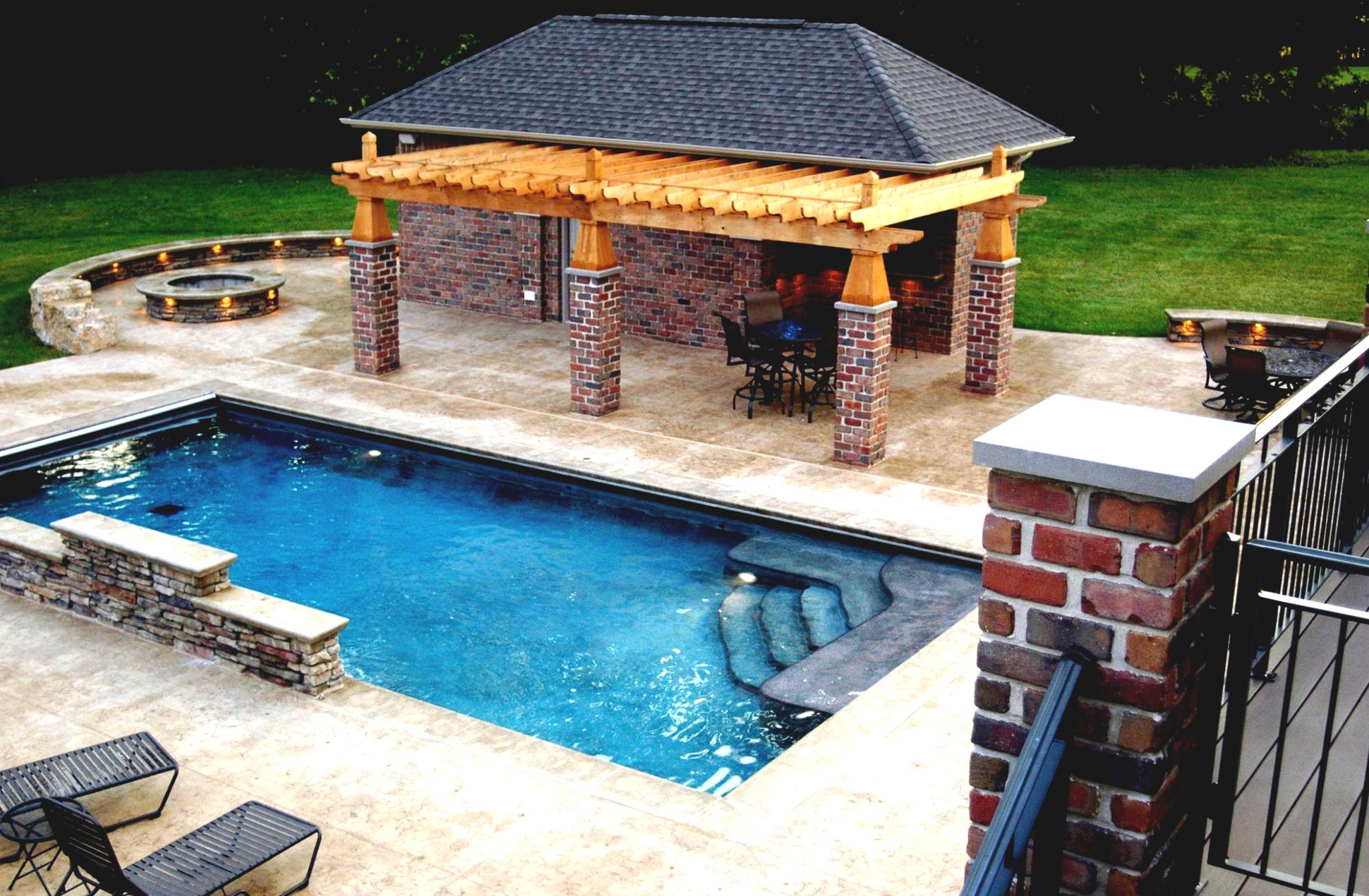 Outdoor pool and bar designs - bring out the beauty with ... on Backyard Pool Bar Designs id=71957