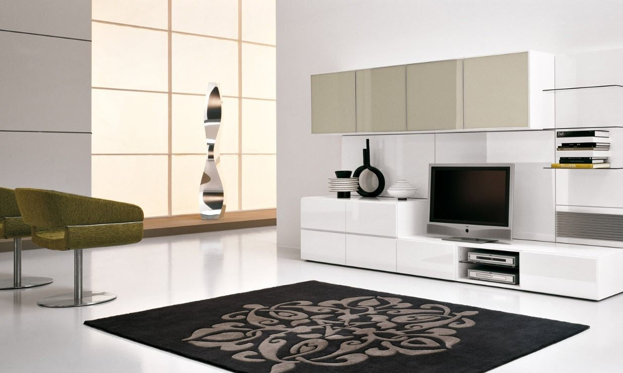 TOP 21 Living room lcd tv wall unit design ideas ... on Living Room Wall Units id=78558